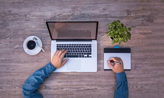 Social Workers laptop